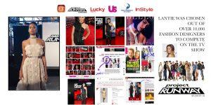 Lantie foster press pics,project runway designer,freelance fashion designer nyc, fashion design, dress design,