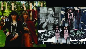 gypsy,velvet mood board,leather,lace,idea board collection development,by a fashion designer