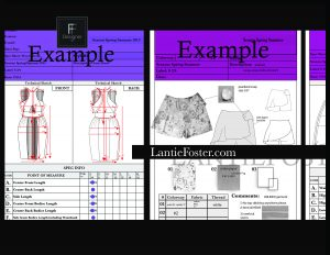 example of tech pack,dress tech pack,measurements,technical drawing