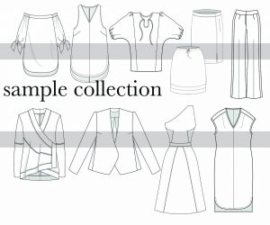 illustration_example_of_a_clothing line,project runway designer