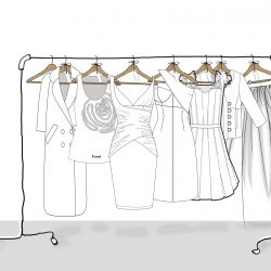 illustration of sart_a_clothing_line_drawing