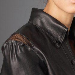 leather by freelance fashion designer.nyc