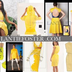 blog,yellow designer dresses,lantie_foster,freelance fashion designer, emerging fashion designer
