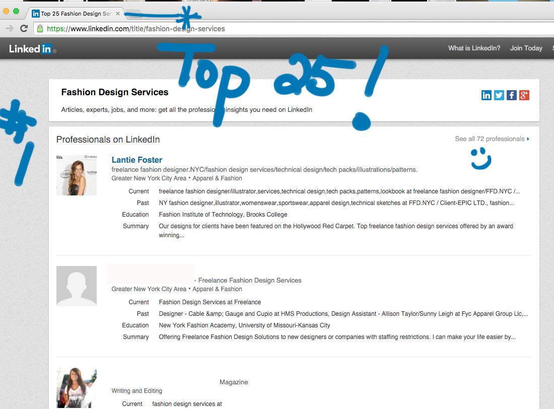Linkedin Listed 1 Top Fashion Design Services Freelance Fashion Designer Nyc Freelance Fashion Designer Services Fashion Freelance