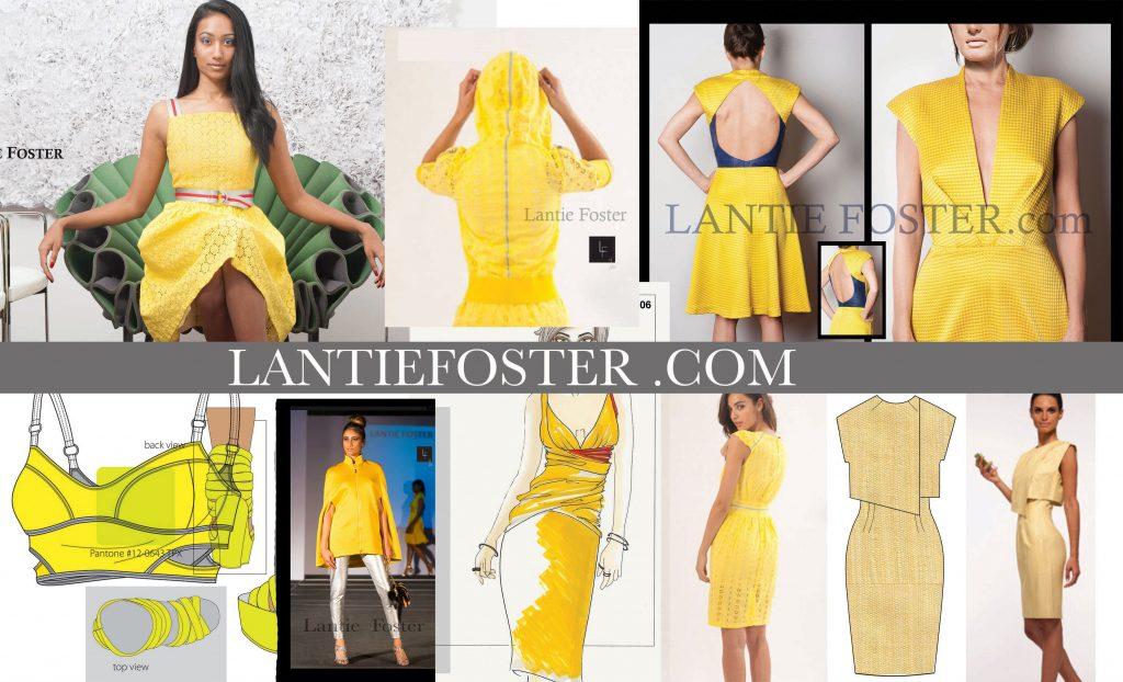 yellow_designer_dresses_lantie_foster,freelance fashion designer, emerging fashion designer